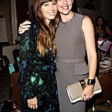 Jennifer Garner posed for a picture with Jessica Biel at the Variety Power of Women Luncheon in Beverly Hills, CA, in October.