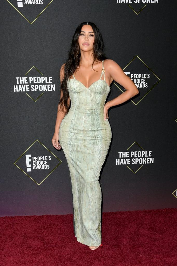 Kim Kardashian at the 2019 People's Choice Awards