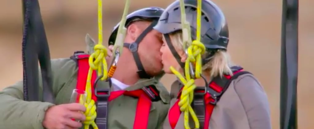 Elly and Frazer First Kiss on The Bachelorette