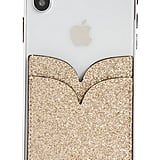Kate Spade New York Glitter Double Sticker Phone Pocket