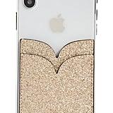 Kate Spade New York Glitter Double Sticker Phone Pocket
