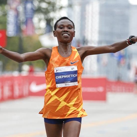 Women Winners of the 2021 Chicago, Boston Marathons: Photos