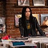Zoë Kravitz's Leather Jacket as Rob on High Fidelity