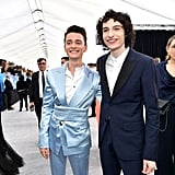 Noah Schnapp and Finn Wolfhard at the 2020 SAG Awards