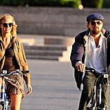 Leonardo DiCaprio and girlfriend Erin Heatherton hung out in NYC.
