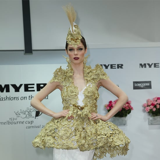 Coco Rocha Crown Oaks Day