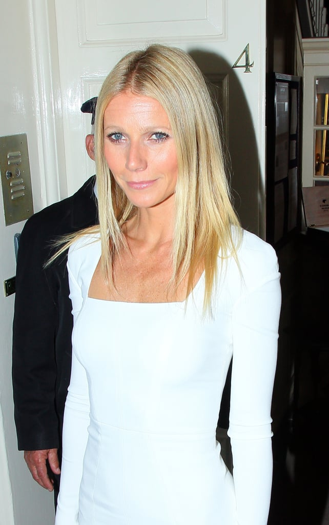 Gwyneth Paltrow Gets Sexy in White For a Fancy Political Party