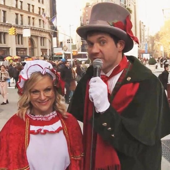 Amy Poehler Christmas Carol Ambush on Funny or Die Video