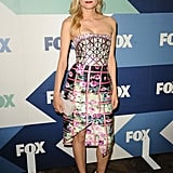 Diane Kruger hit the TCA tour in a standout Mary Katrantzou Resort 2014 dress.