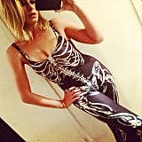 Lo Bosworth opted for the classic skeleton costume.