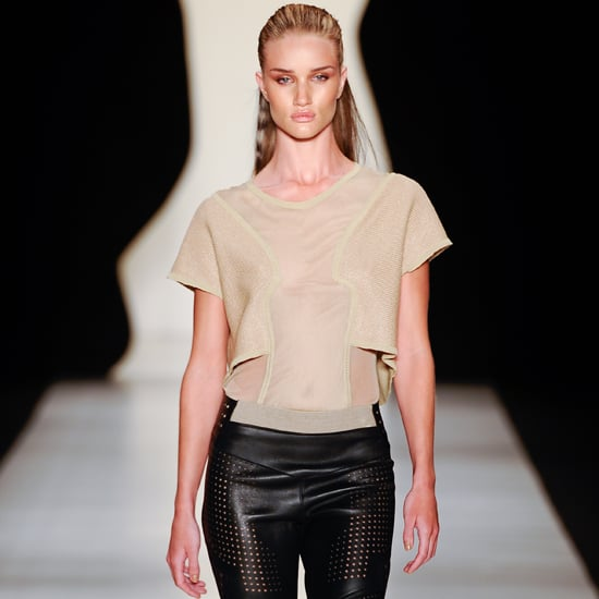 Rosie Huntington-Whiteley Leaves Project Runway All Stars