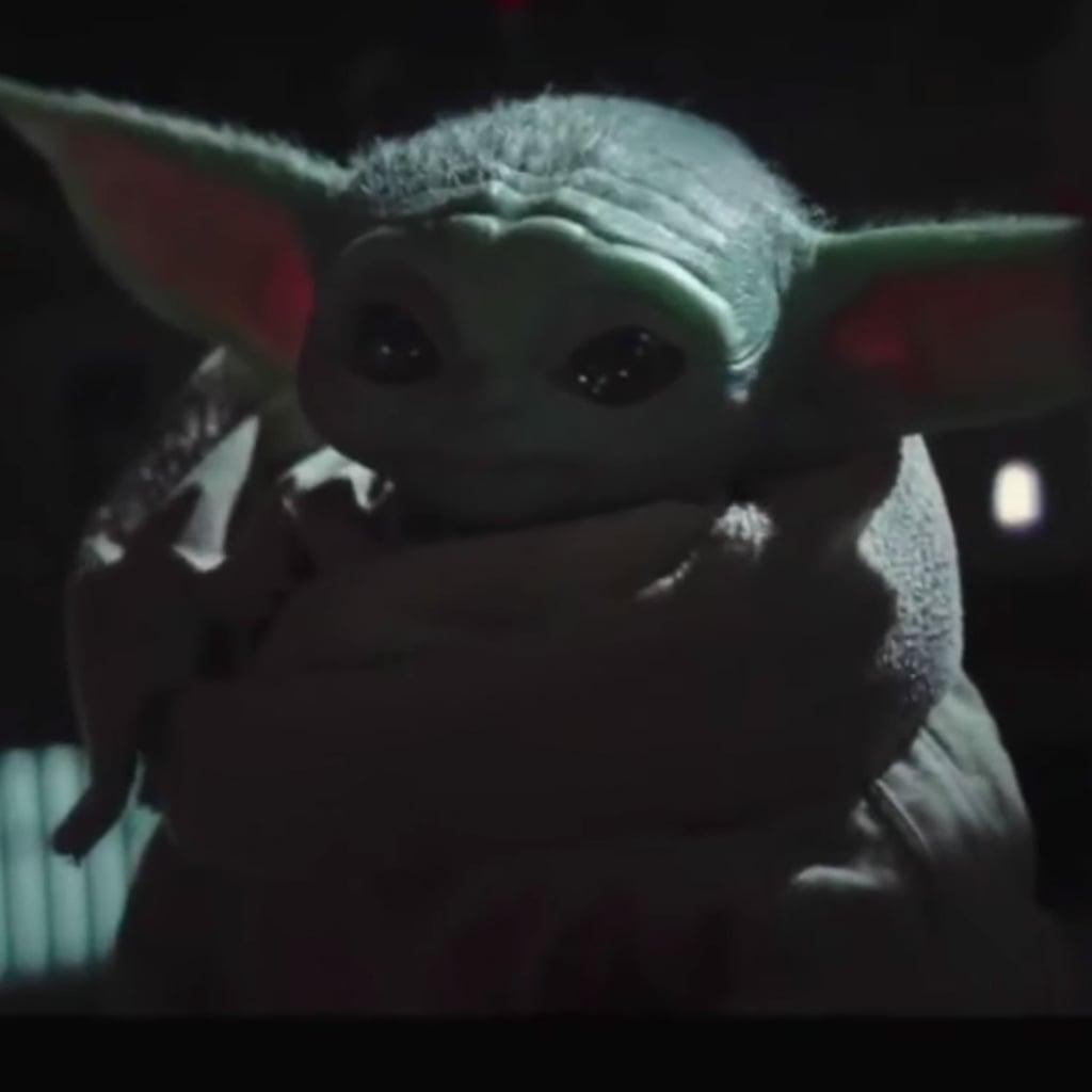 Baby Yoda Pushing Buttons Meme Videos Popsugar Entertainment