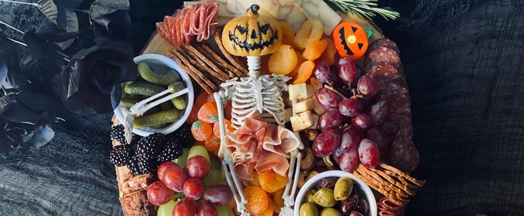 These Skeleton Charcuterie Boards Are Spooktacular