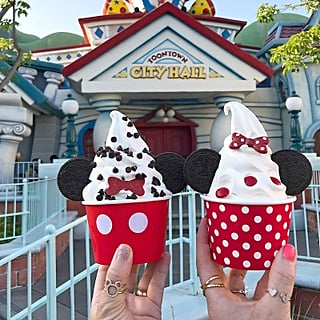 Disneyland Mickey and Minnie Soft Serve Ice Cream 2018