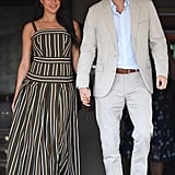 Meghan Markle Wearing Martin Grant in Cape Town, South Africa, in September 2019