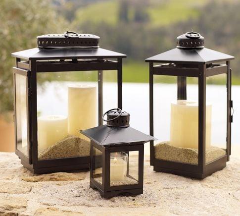 Pottery Barn Grayson Lantern