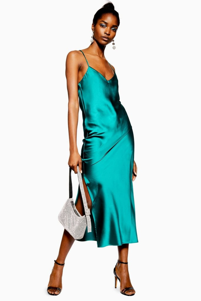 e558e2b4322bf Topshop Satin Slip Dress | Dresses That Flatter Every Body Type ...