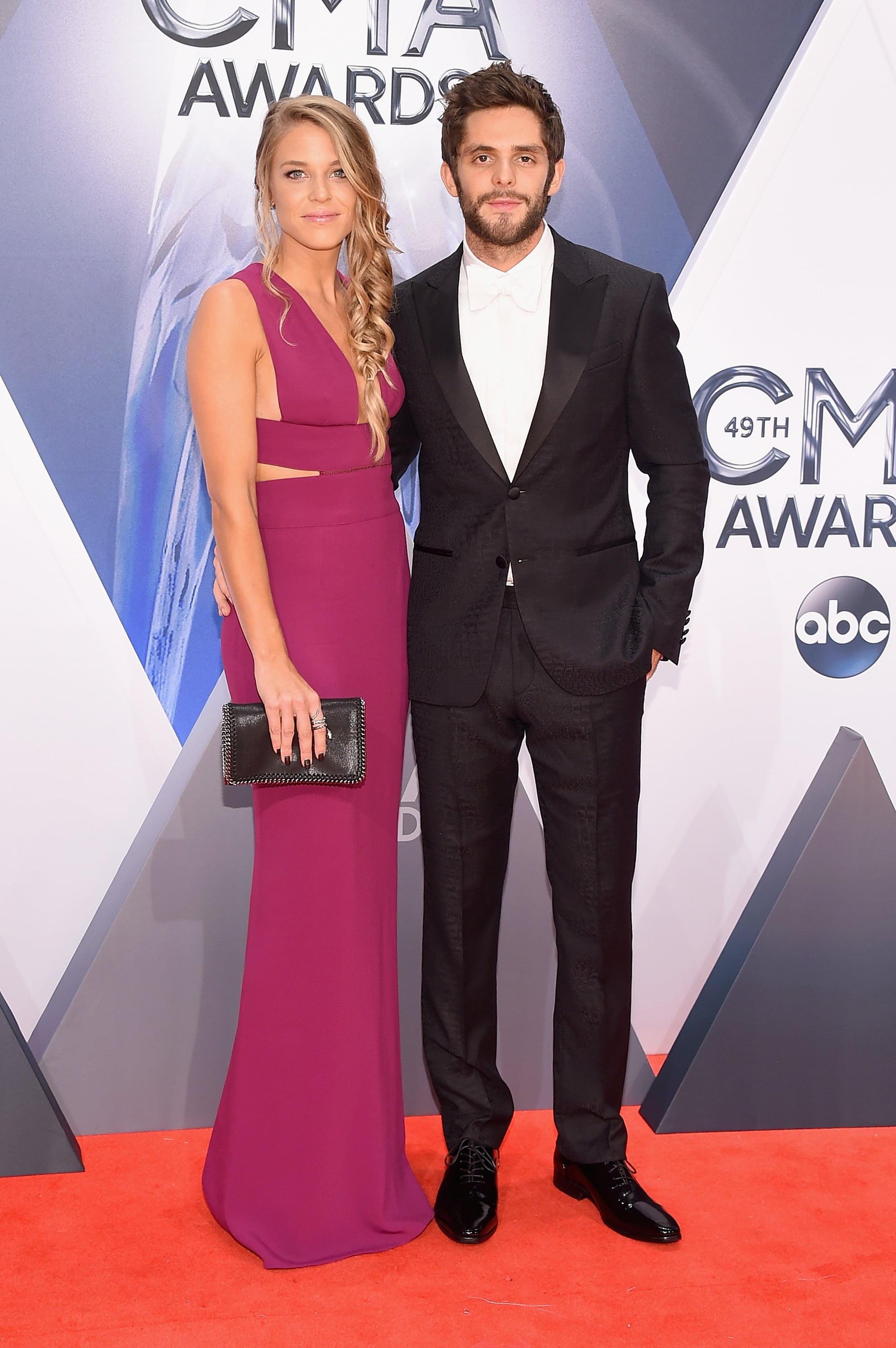 Lauren Gregory And Thomas Rhett See All The Stars On The Cma