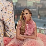 Taylor's Pink Ruffle Top and Skirt