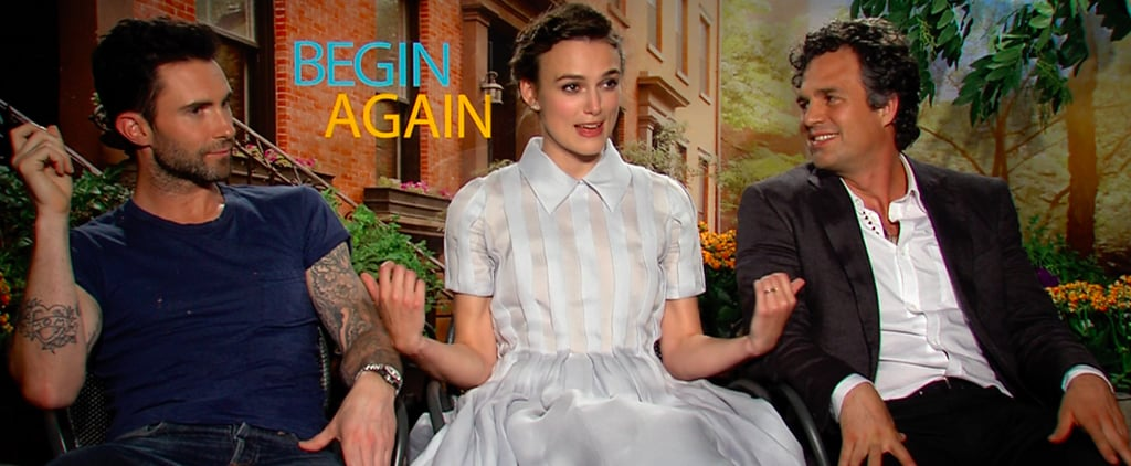 Adam Levine Interview For Begin Again