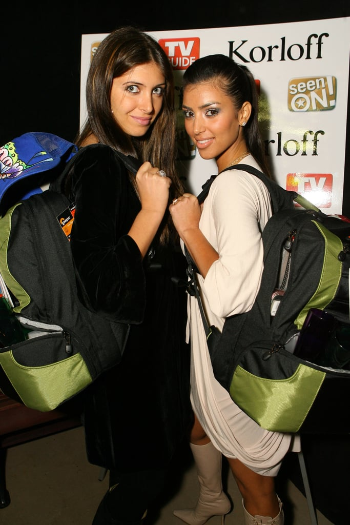 She and her friend Brittny Gastineau attended a launch party together in LA in December 2006.
