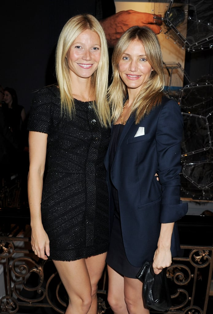 Cameron Diaz joined Gwyneth Paltrow at The Arts Club reopening.