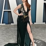 Madelaine Petsch at the Vanity Fair Oscars Afterparty 2020