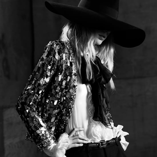 Aussie Model Julia Nobis Is the Star of Saint Laurent's New campaign