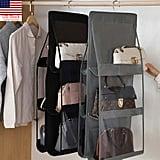 Six-Pocket Foldable Hanging Bag