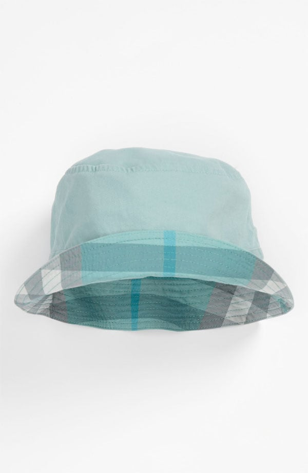 Get your designer-dud fix while keeping the sun off baby's face with Burberry's Channing Hat ($60), featuring the brand's iconic check.