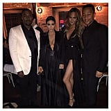 Kim and Kanye Attended John Legend's Birthday