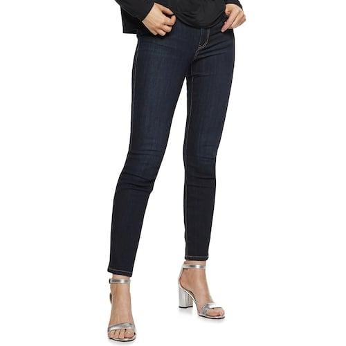Nine West Petite Bedford Mid-Rise Skinny Jeans