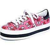 Alice + Olivia x Keith Haring Ezra Flatform Sneakers
