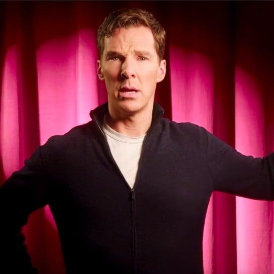 Benedict Cumberbatch I'm a Little Teapot Video