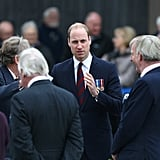 Prince William at Remembrance Centre March 2017