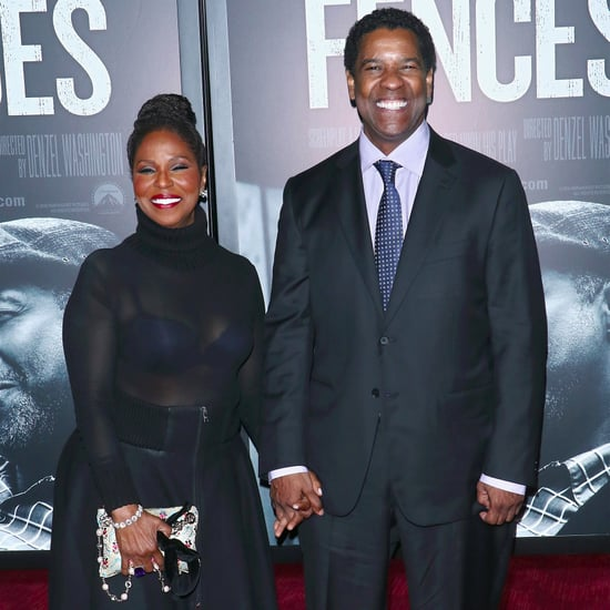 Denzel Washington and Wife at Fences Premiere in NYC
