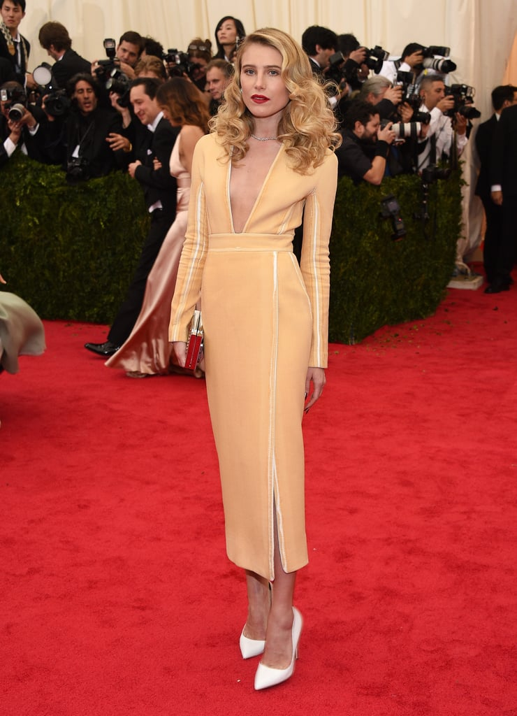 Dree Hemingway at the Costume Institute Ball