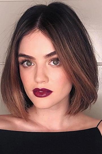 Lucy Hale Blond Hair November 2018