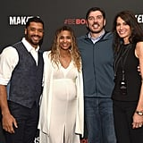 Ciara and Russell Wilson at MAKERS Conference February 2017