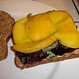 Avocado-Mango Sandwich