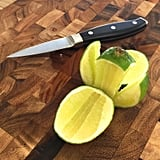 Get double the amount of lime juice by cutting it in a different way.