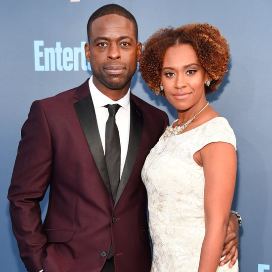 Sterling K. Brown at the 2017 Critics' Choice Awards
