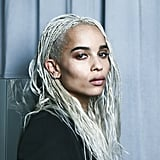 Zoë Kravitz for Yves Saint Laurent