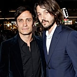 He Is BFFs With Mexican Actor Diego Luna