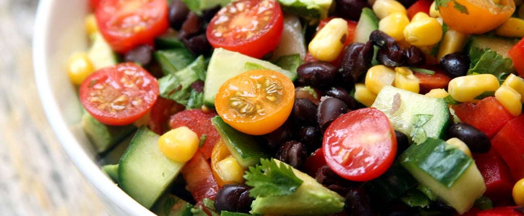 Cucumber, Black Bean, Corn, Tomato, and Avocado Salad | POPSUGAR ...