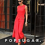 Victoria Beckham looked like she was walking the runway when she stepped out in NYC on Tuesday.