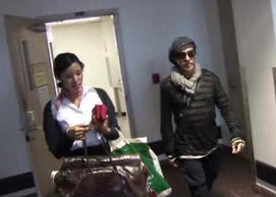 Video: John Galliano Heckled at Los Angeles Airport