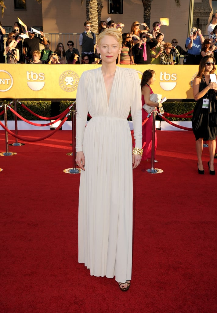 Tilda Swinton at the 2012 SAG Awards