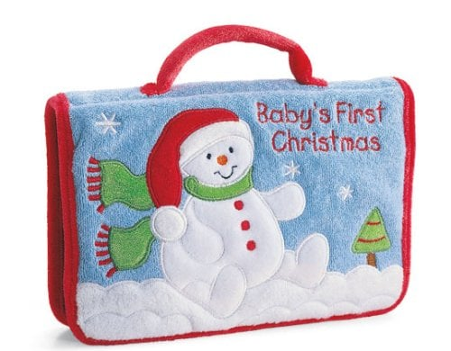 Gund Baby\'s First Christmas Photo Album | Baby\'s First Christmas ...