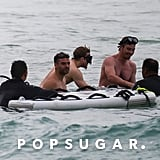 Oscar Isaac Shirtless in Hawaii Pictures March 2018